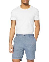 FIND Pantalón Corto Clásico - Blanco
