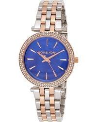 Michael Kors 'lauryn' Quartz Stainless Steel Casual Watch, Color:silver-toned (model: Mk3900) - Metallic
