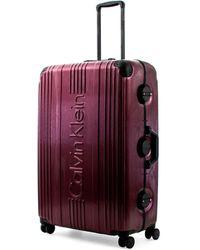 Calvin Klein Fulton 2.0 Hartschalen-Trolley mit TSA-Schloss - Lila