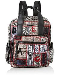Desigual 19waka35 Rucksack Handbag - Blue