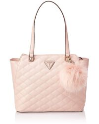 Guess - Astrid Tote Blush - Lyst