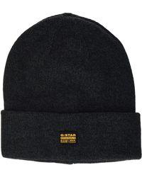 G-Star RAW Effo Beanie Hat - Black