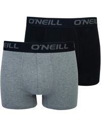 O'neill Sportswear - Boxer Aderenti da Uomo Confezione da 2 - Lyst