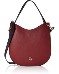 Tommy Hilfiger Th Core Hobo 's Cross-body Bag - Red