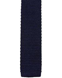 Esprit 990eo2q304 Cravate - Bleu