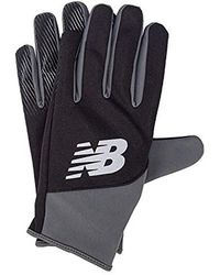 New Balance S Team Player Gloves In Black - Perfect For Those Winter Training
