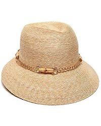 07d78c81d62 Gottex - Vivienne Fine Milan Straw Packable Sun Hat