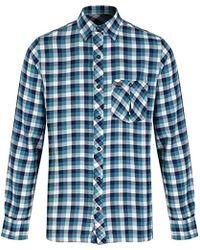 Regatta - S Lazka Check Pattern Coolweave Cotton Shirt - Lyst