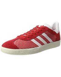 premium selection 0c047 21492 adidas - Gazelle Primeknit Trainers - Lyst
