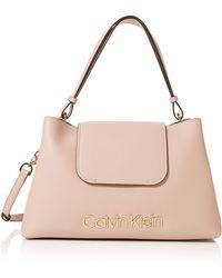 Calvin Klein Dressed Up Top Handle - Pink