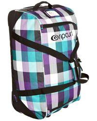 Rip Curl Travel Duffle Check Apollo Bag, 65 Cm, 70 Liters, Solid Black, Ctepmg