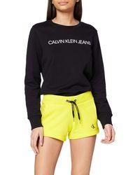 Calvin Klein CK Embroidery Regular Short - Amarillo