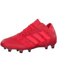 adidas Nemeziz-17.1 FG Chaussures de Football - Rouge