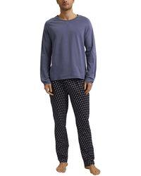 Esprit Antao Nw Coo Pyjama Pyjama Set - Blue