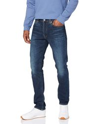 Levi's Jeans pour hommes à coupe ajustée avec - Bleu