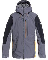 Quiksilver Shell Snow Jacket for - Blau