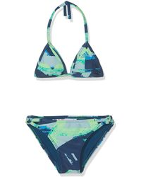adidas Allover Print Bikini - Blu