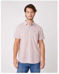 Wrangler - Pocket Shirt Camicia - Lyst