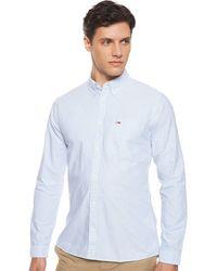 Tommy Hilfiger Tjm Classics Oxford Ithaca Shirt Casual - Blue
