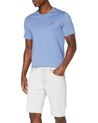 Levi's 511 Slim Shorts Pantalones Cortos - Blanco