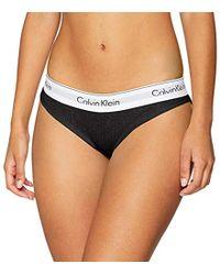 Calvin Klein Bikini Culotte para Mujer - Negro