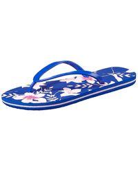 O'neill Sportswear Fw Tropadelic Print Flip Flops - Blue