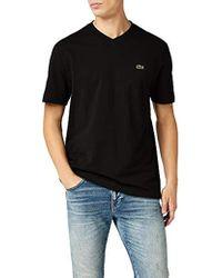 Lacoste T- T-Shirt Homme - Noir