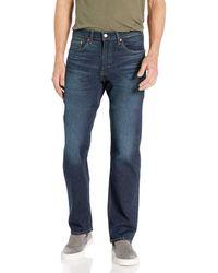 Levi's 505 Regular Fit Jeans - Blue