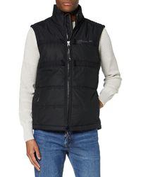 G-Star RAW G-whistler Padded Hooded Vest - Black