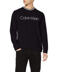 Calvin Klein L/S Sweatshirt Sweat-Shirt - Noir