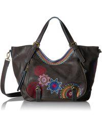 Desigual Bols_rotterdam Amber. 2000. U Top Handle Handbag - Black