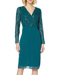 Dorothy Perkins Green Embroidered Wrap Skirt