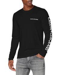 Calvin Klein - Essential Instit LS tee Camisa - Lyst