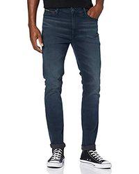 Tommy Hilfiger Skinny Simon Dktd Jeans Straight Uomo - Blu