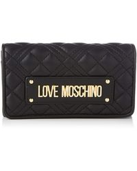 Love Moschino SS21, Portefeuille , Jaune, Normal