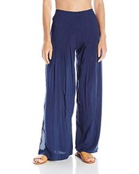 ViX - Solid Indigo Meidy Pant Cover Up - Lyst