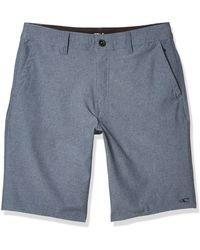 O'neill Sportswear Loaded Hybrid Short Board - Blue