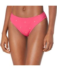 Amazon Essentials Classic Bikini Swimsuit Bottom - Pink