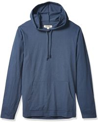 Goodthreads Soft Cotton Long-sleeve Pullover Hoodie - Blue