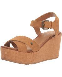 adidas Stone Platform Ankle Strap Sandals, Brown (braun Braun), 9 Uk