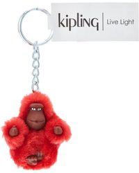 Kipling MONKEYCLIP XS KH - Rosso