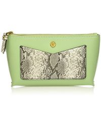 Anne Klein - V-pocket Small Cosmetic Pouch - Lyst