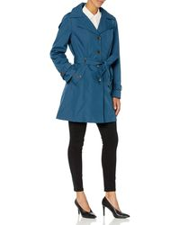 Calvin Klein Single Breasted Rain Coat - Multicolor