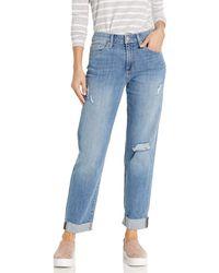 Joe's Jeans Niki Midrise Boyfriend Crop Jean - Blue