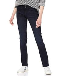 G-Star RAW Damen Midge Saddle Mid-Waist Straight Jeans - Blau