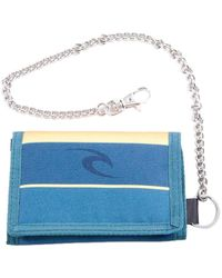 Rip Curl Surf Chain Polyester Wallet In Navy - Blue