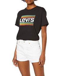 Levi's 501 High Rise Short - White