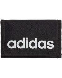 adidas Portefeuille Essentials Logo - Noir