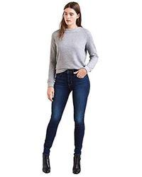 Levi's 721 High Rise Skinny Vaqueros para Mujer - Azul