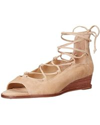 Vince Camuto Rochela Wedge Sandal - Natural